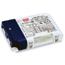 Mean Well LCM-60 Series Multiple-Stage Output Current with AUX o/p LED Driver-60W