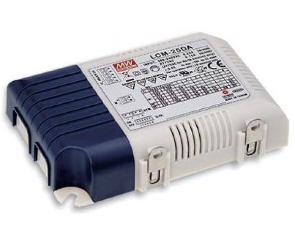 Mean Well LCM-25DA Series Multiple-Stage Output Current LED Driver-25W